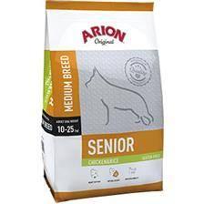 Croquettes chien de chasse arion original gluten-free senior medium chicken & rice