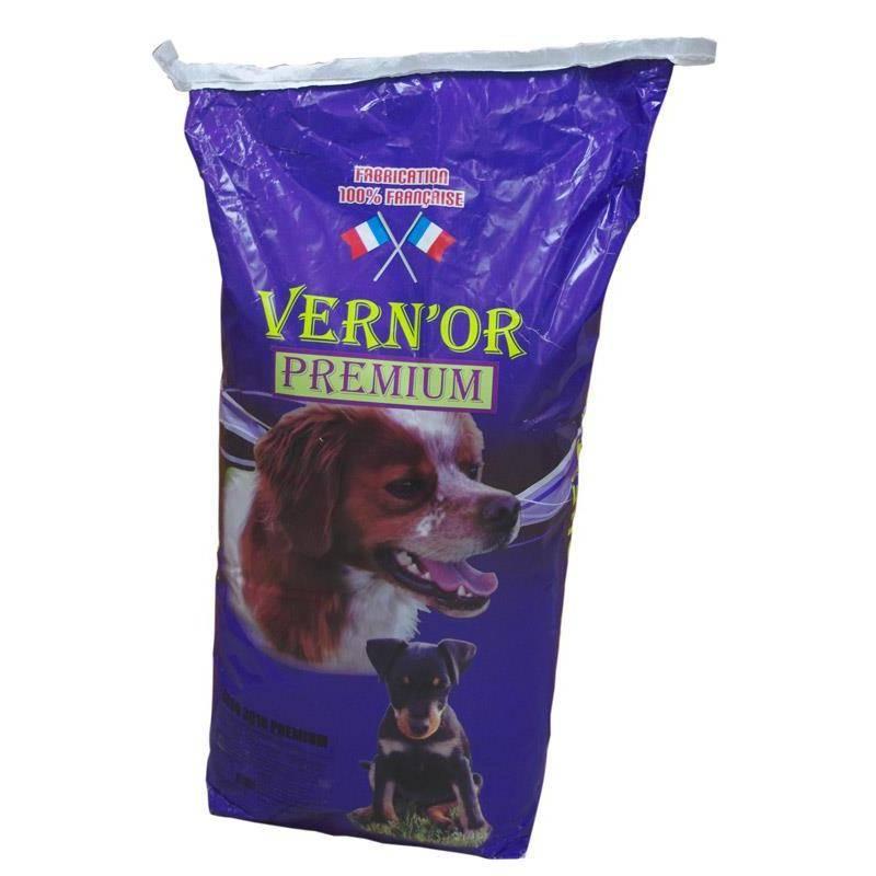 Croquettes Chien De Chasse Francaises Vernon 3018 Premium - 15Kg