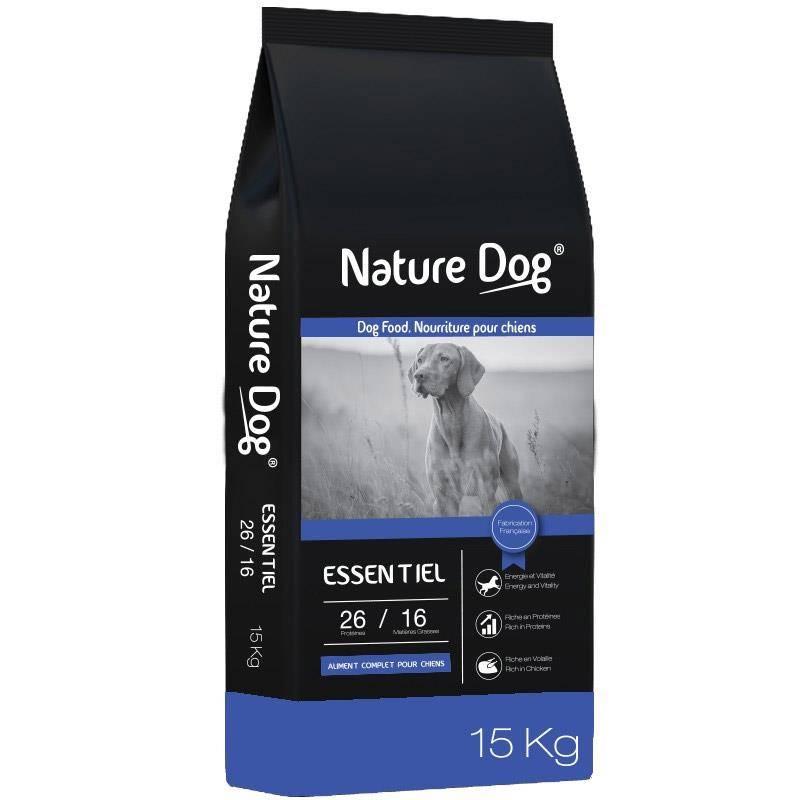 Croquettes Chien De Chasse Nature Dog Essentiel 26/16