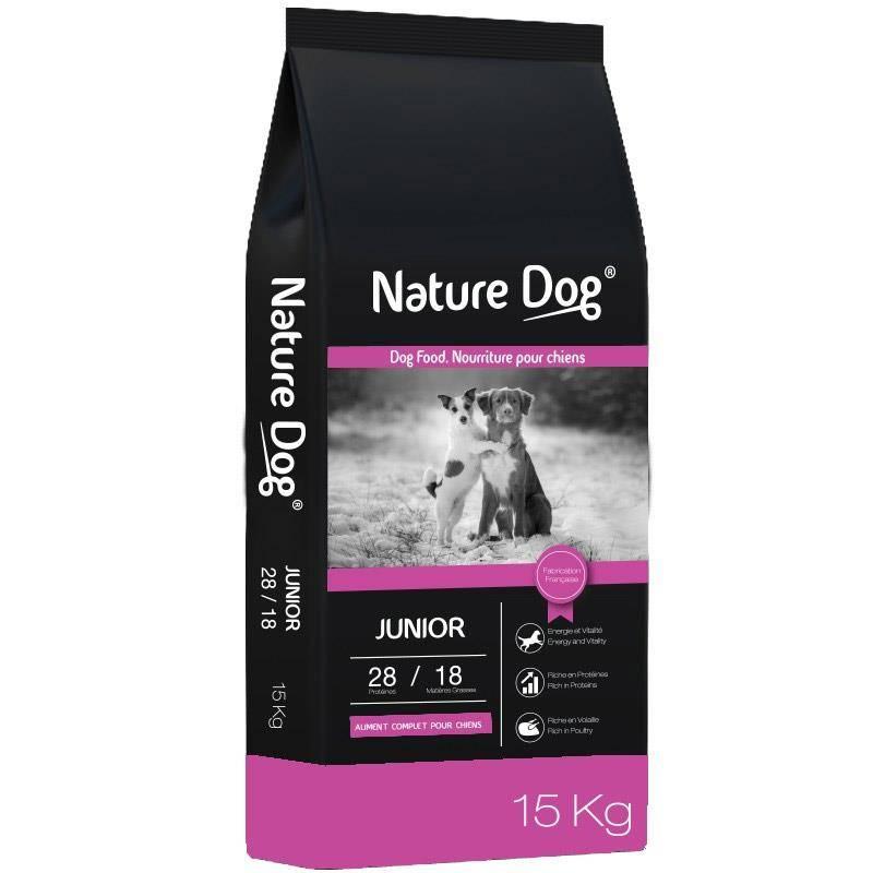 Croquettes Chien De Chasse Nature Dog Junior 28/18