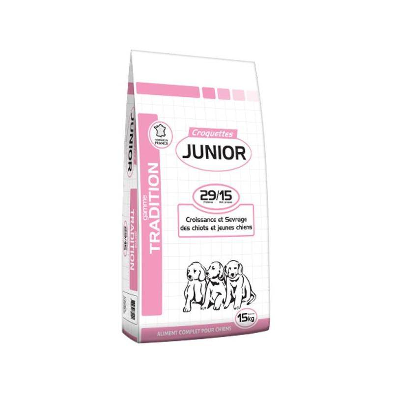 CROQUETTES CHIEN DE CHASSE SAGA NUTRITION TRADITION JUNIOR - Tradition Junior