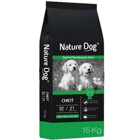 CROQUETTES NATURE DOG CHIOT 32/21
