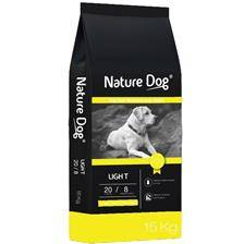 Croquettes nature dog light 20/8