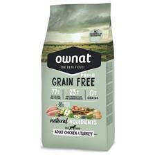 Croquettes ownat grain free prime adult chicken & turkey