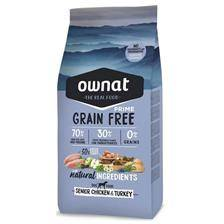 Croquettes ownat grain free prime senior chicken & turkey