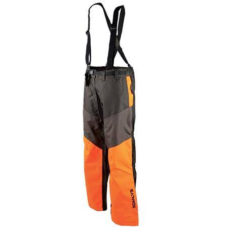 Cuissard Homme Somlys 397P Hybride Cordura - Orange