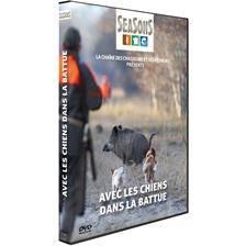 Dvd - avec les chiens dans la battue - chiens de chasse - seasons
