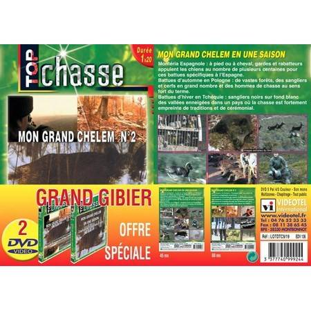DVD - BATTUES GRAND GIBIER