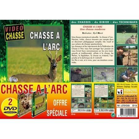 Dvd - Chasse A L'arc - Video Chasse - Lot De 2