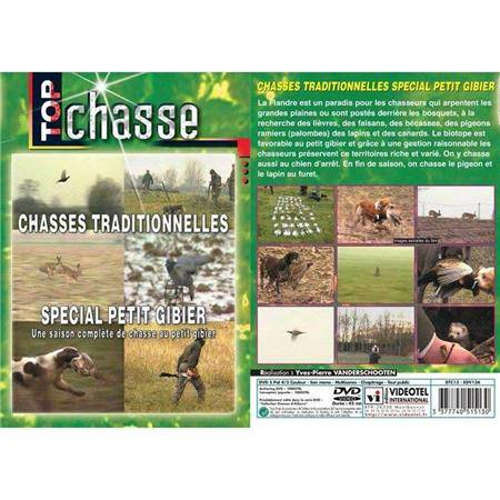 DVD - CHASSES TRADITIONNELLES SPECIAL PETIT GIBIER