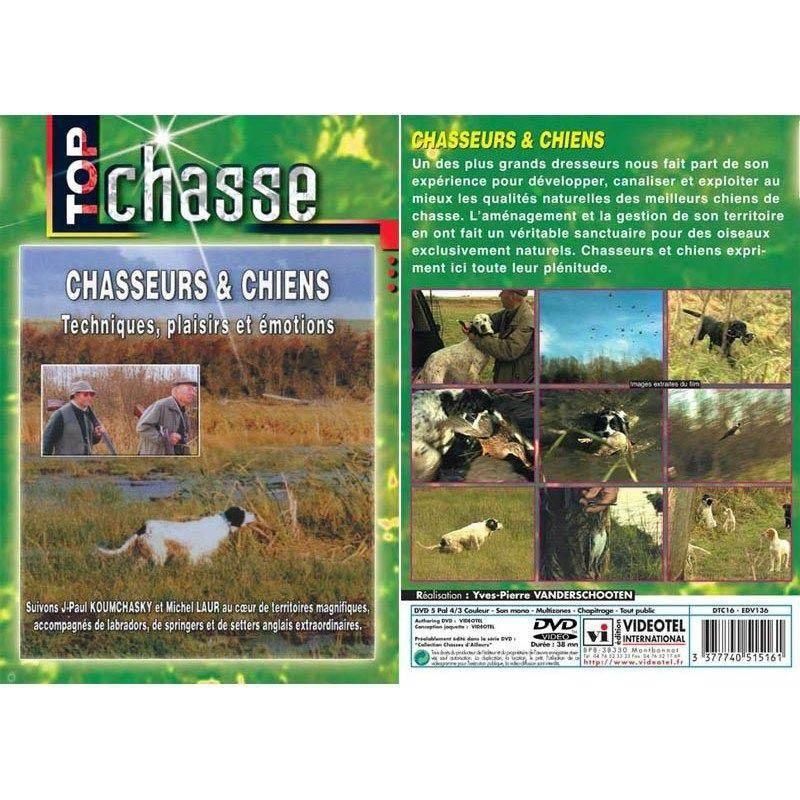 Dvd - Chasseurs Et Chiens