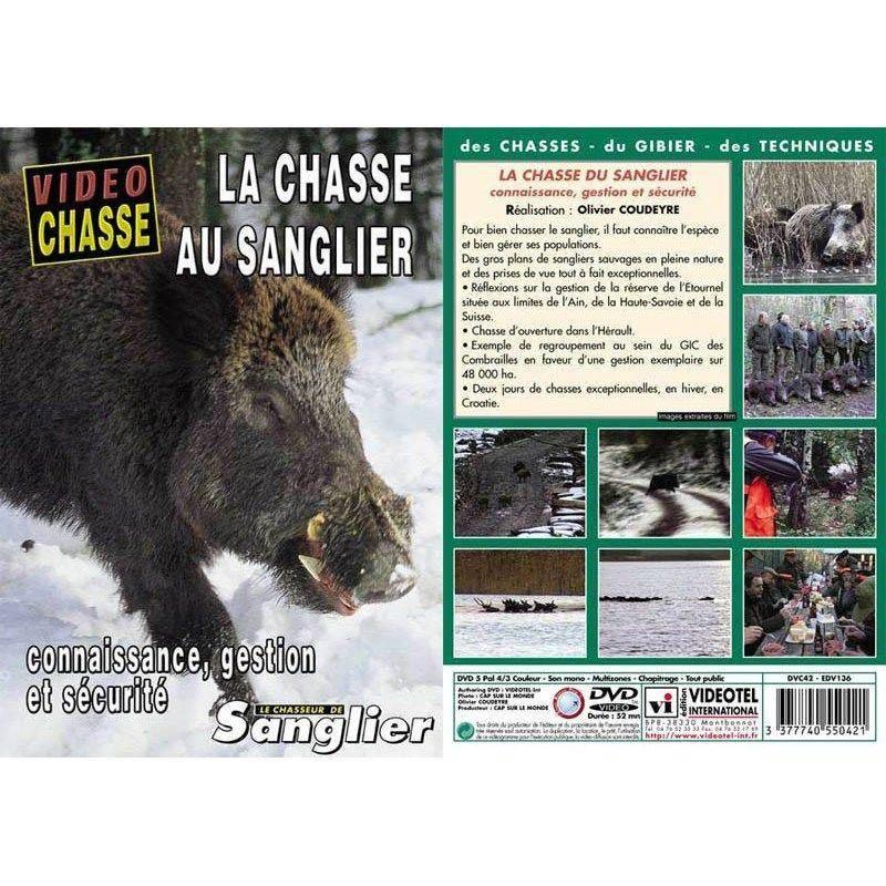 Dvd - La Chasse Au Sanglier