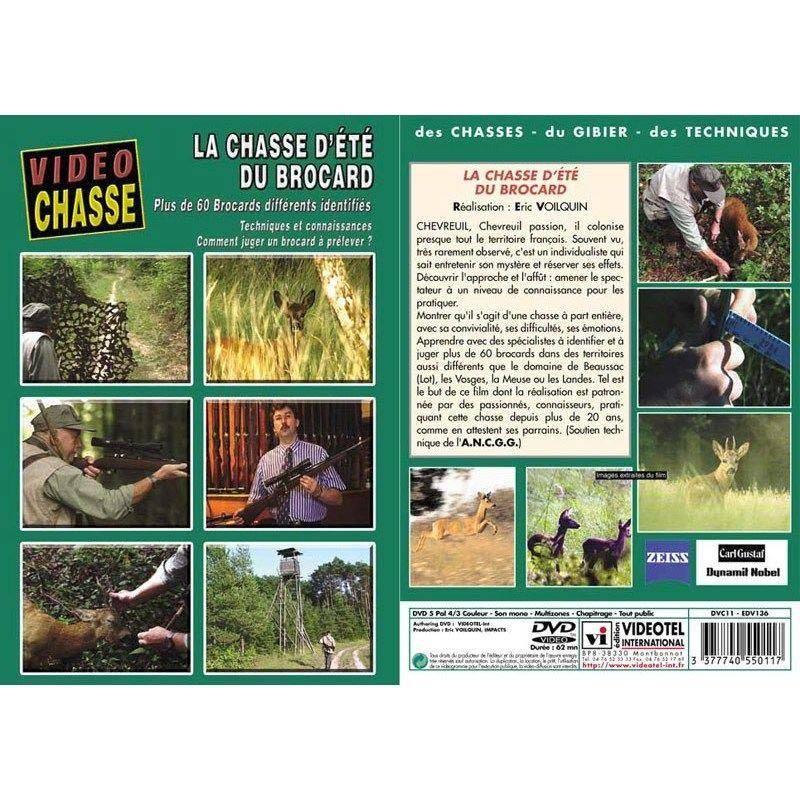 Dvd - La Chasse D'ete Du Brocard
