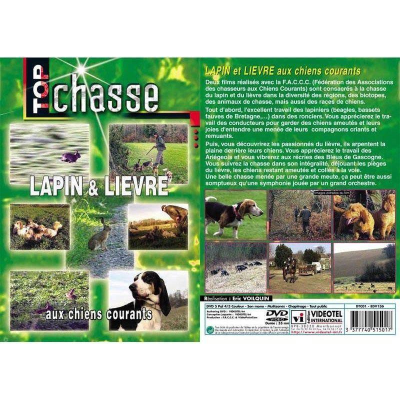 Dvd - Lapin Et Lièvre Aux Chiens Courants