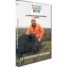 Dvd - le chasseur d'emotion - chasse du grand gibier - seasons