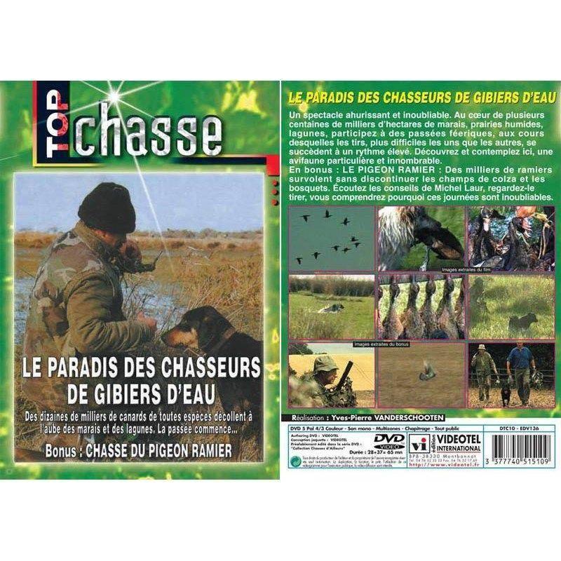 Dvd - Le Paradis Des Chasseurs De Gibiers D'Eau