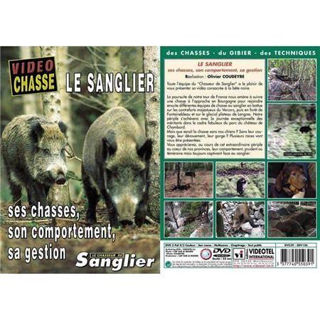 Dvd - Le Sanglier Chasses, Comportement, Gestion