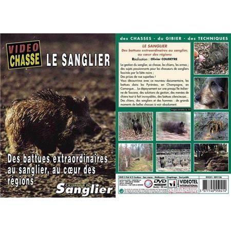 Dvd - Le Sanglier Des Battues Extraordinaires
