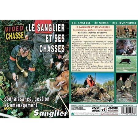 Dvd - Le Sanglier Et Ses Chasses - Connaissance, Gestion Et Amenagement