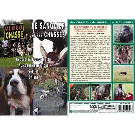 Dvd - Le Sanglier Et Ses Chasses - Record De France Battu, Gestion Chiens, Au Coeur Des Régions