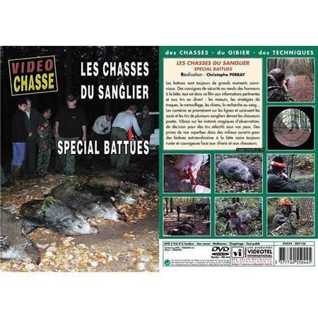 Dvd - Les Chasses Du Sanglier Spécial Battues