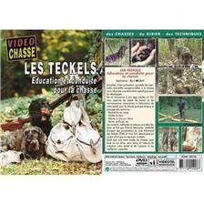 Dvd - les teckels : education et conduite pour la chasse  - chiens de chasse - video chasse