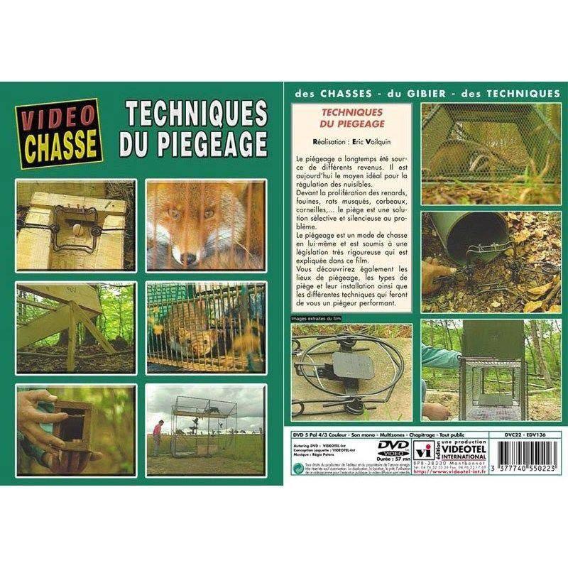 Dvd - Techniques Du Piegeage