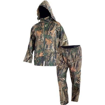 Ensemble Veste Et Pantalon Homme North Company Rainwear Set - Camo