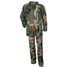 Ensemble veste et pantalon junior pluie percussion - camo