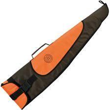 Etui carabine januel toile - vert/orange