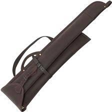 Etui fusil januel demonte croute de cuir