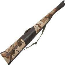 Etui fusil januel toile de camouflage