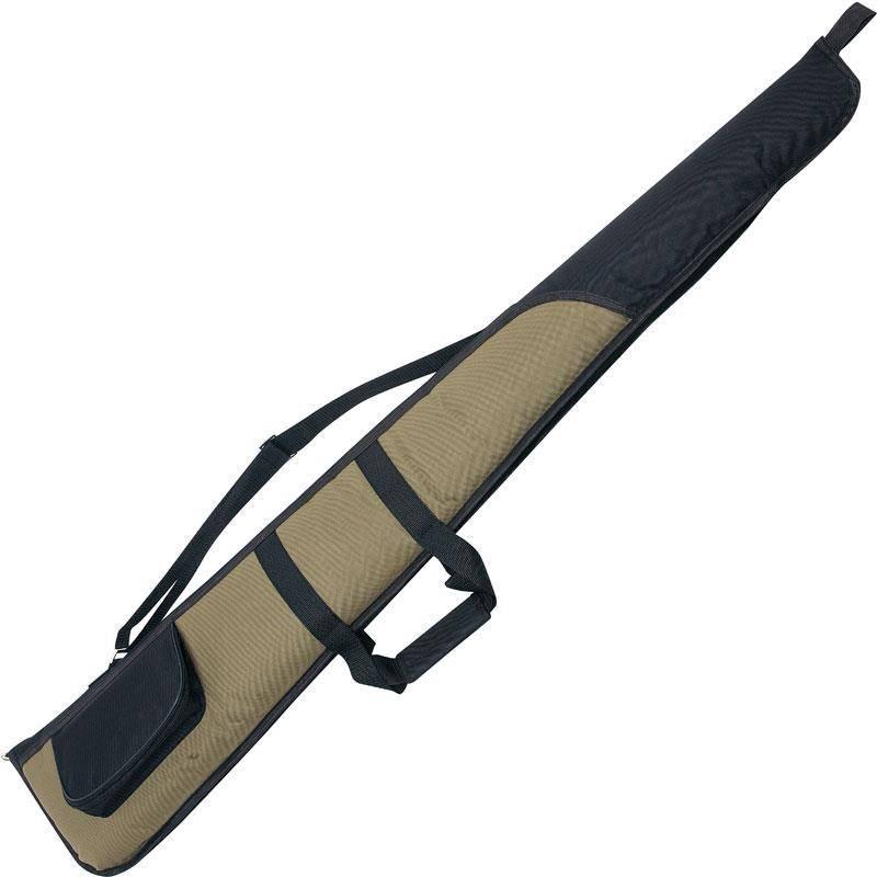 Etui Fusil Januel Vert Avec Poche Noire