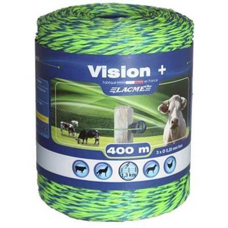 Fil Conducteur Lacme Fluo Vision + - 400M