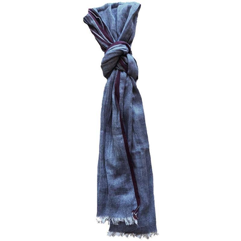 Foulard Homme Stagunt Zig Scarf - Bleu