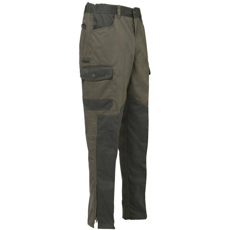 Fuseau Homme Percussion Chasse Tradition - Kaki