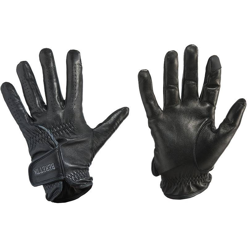 Gants Mixte Beretta Target Leather Gloves - Noir