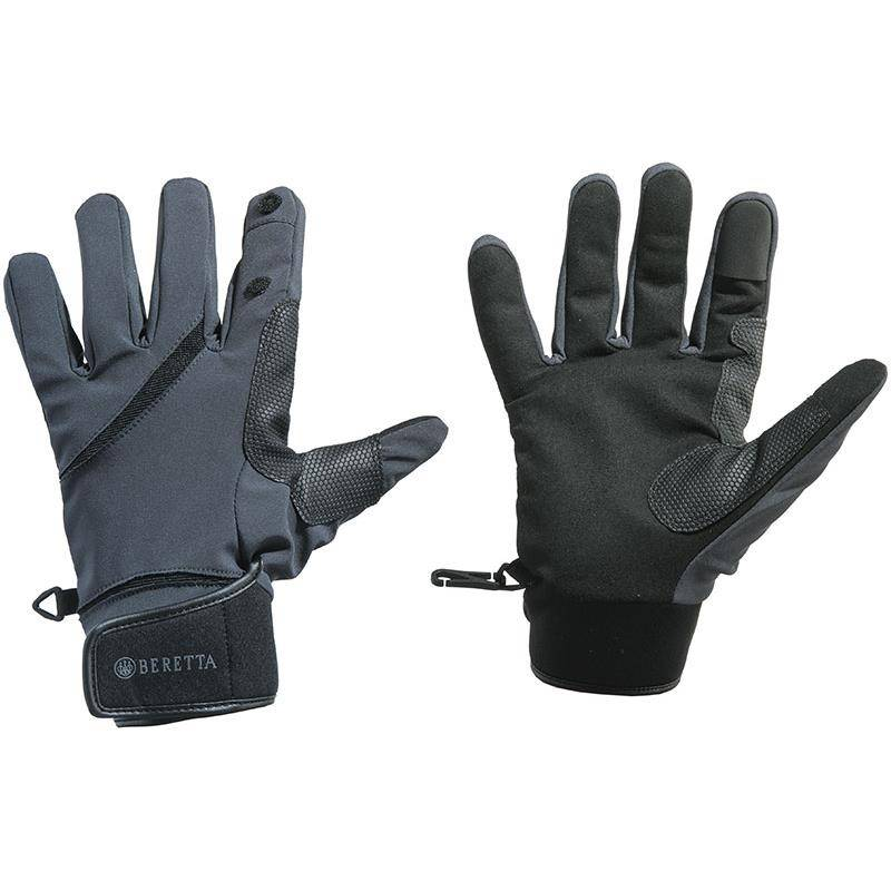 Gants Mixte Beretta Wind Pro Shooting Gloves - Noir