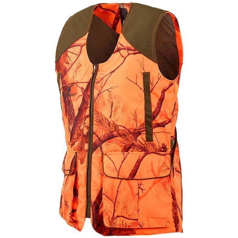 Gilet Chasse Femme Stagunt Ld Milano Vest - Orange Camou