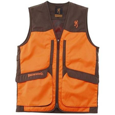 GILET CHASSE HOMME BROWNING UPLAND HUNTER II ORANGE