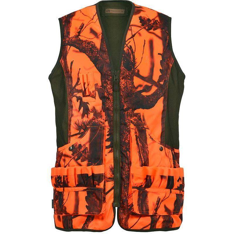 Gilet Chasse Homme Percussion Savane Reversible - Ghost Camo