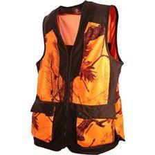 Gilet chasse homme somlys 248 - camou orange
