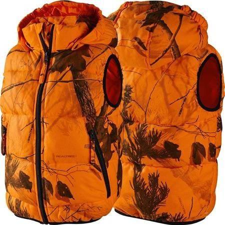 Gilet Chasse Junior Seeland Yukon - Orange