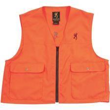Gilet de securite browning x-treme tracker one - orange