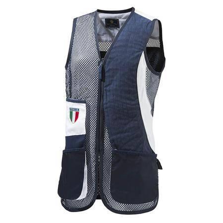 Gilet De Tir Femme Beretta Uniform Pro Trap Italia Sx - Marine