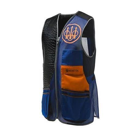 Gilet De Tir Homme Beretta Sporting Evo Vest - Bleu