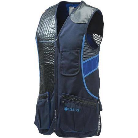 Gilet De Tir Homme Beretta Sporting Vest - Bleu