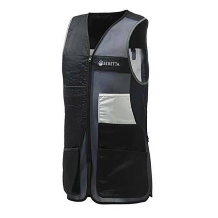 Gilet De Tir Mixte Beretta Uniform Pro 20.20 Cotton - Noir/Gris