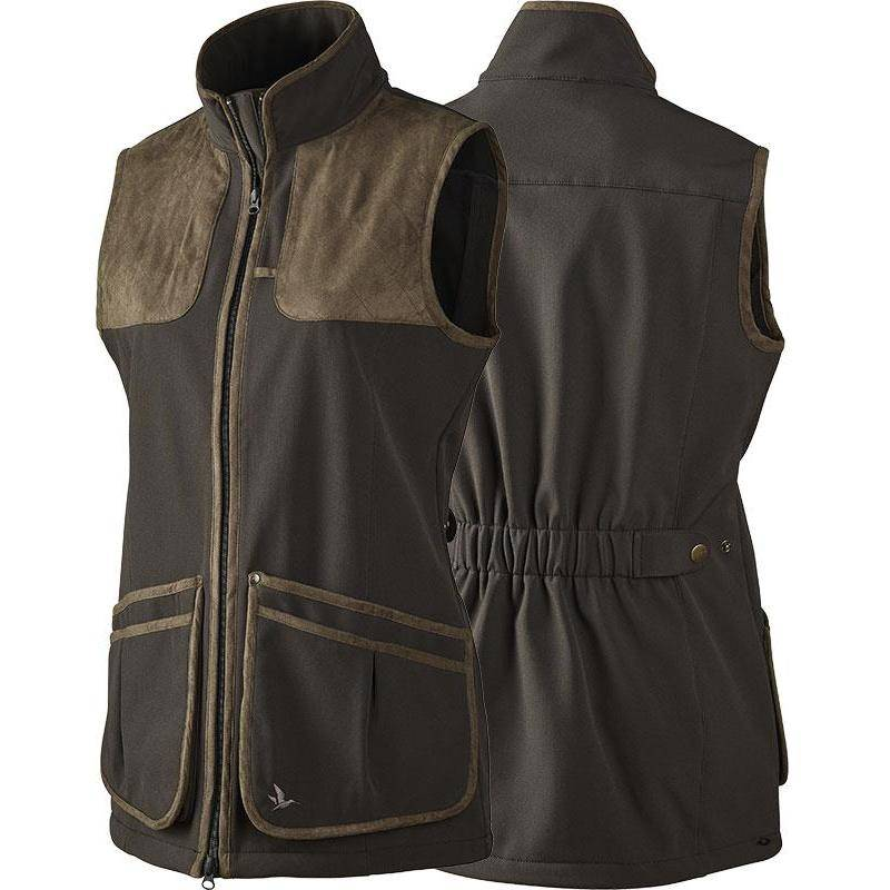 Gilet Femme Seeland Winster Lady Softshell - Marron