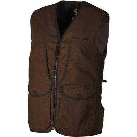 GILET HOMME BROWNING FIELD - MARRON